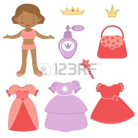 271 Dress Up Doll Cliparts, Stock Vector And Royalty Free Dress Up.