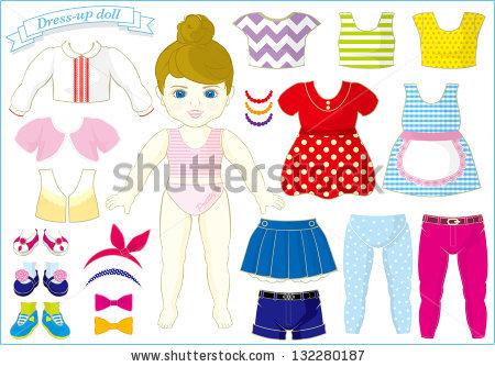 Dress Up Doll Stock Photos, Royalty.