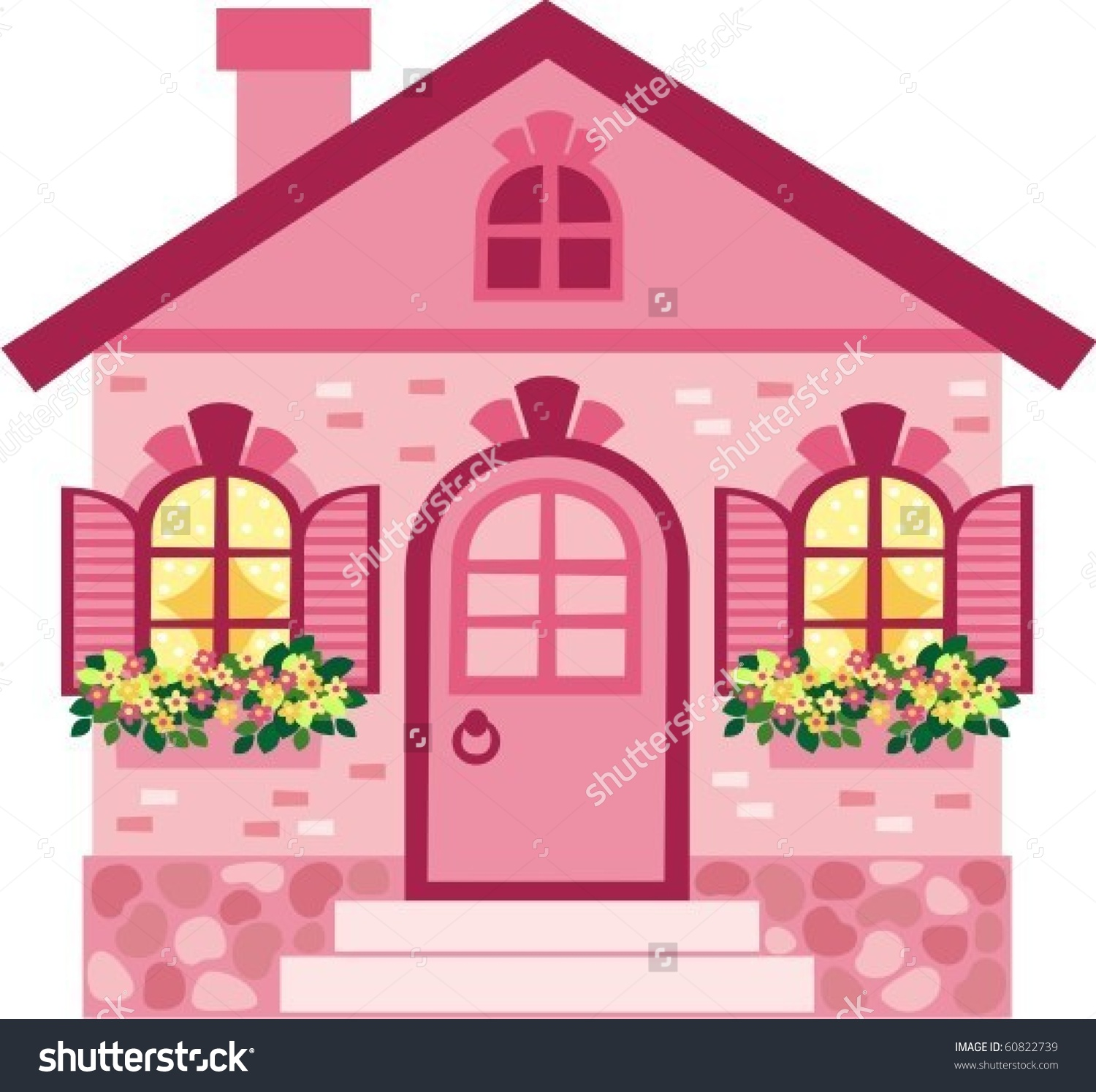 House Stock Vector 60822739.