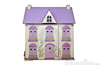 My Dolls House Royalty Free Stock Photos.