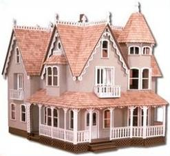 Free Doll House Clipart.