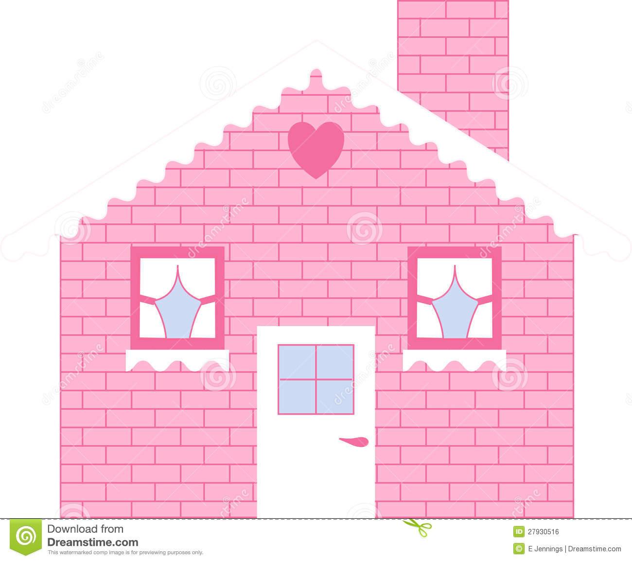 Dolls house brick clipart.