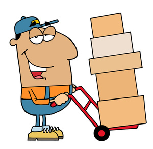 Moving Clipart Image.