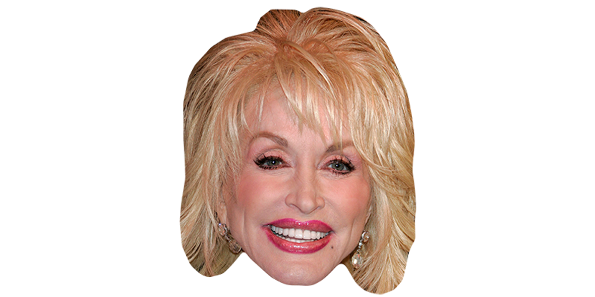 Dolly Parton Big Head.