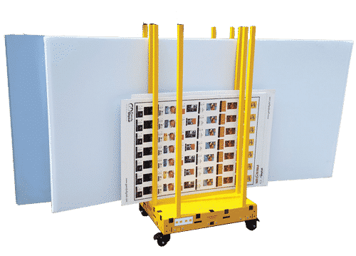 Rack & Roll Safety Dolly Cart.