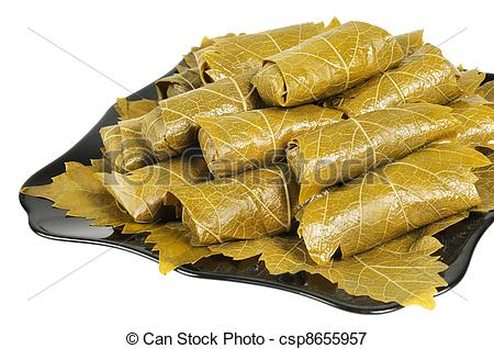 Picture of Dolma on a plate.