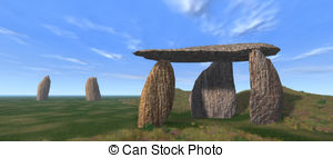 Megalith Illustrations and Stock Art. 40 Megalith illustration and.