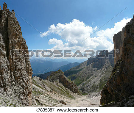 Picture of Dolomite landscape k7835387.