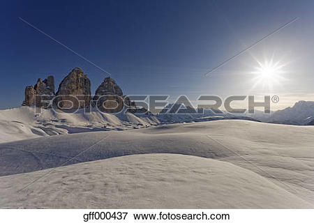 Picture of Italy, Alto Adige, Sexten Dolomites, Hochpuster Valley.