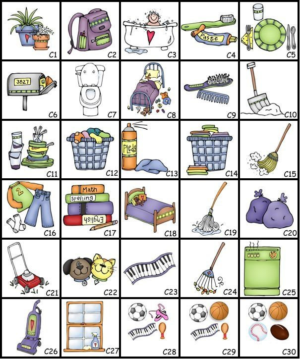 1000+ ideas about Chore Chart Pictures on Pinterest.