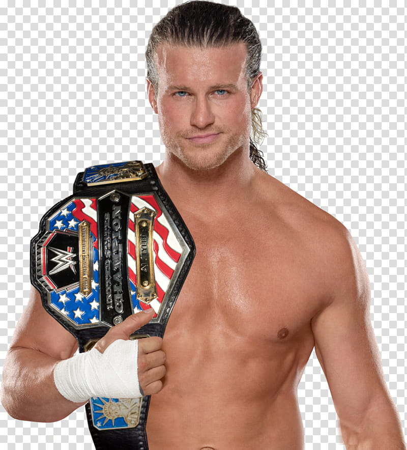 DOLPH ZIGGLER UNITED STATES CHAMPION transparent background.