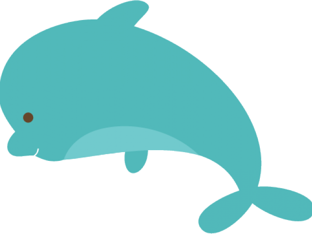 Spinner Dolphin Clipart Border.