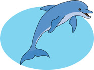 Free Dolphin Clipart.
