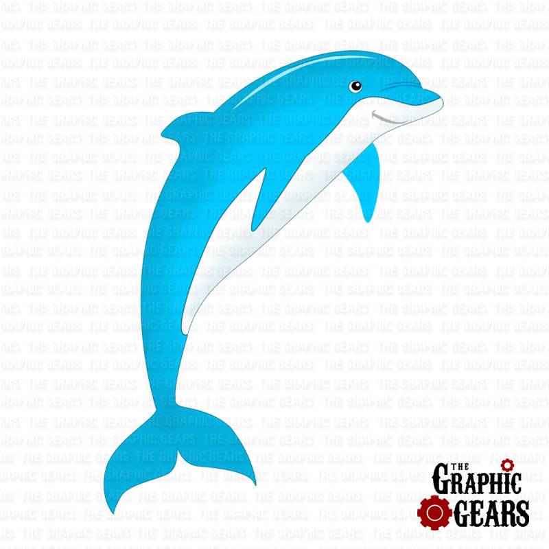 Baby Dolphin Clipart.