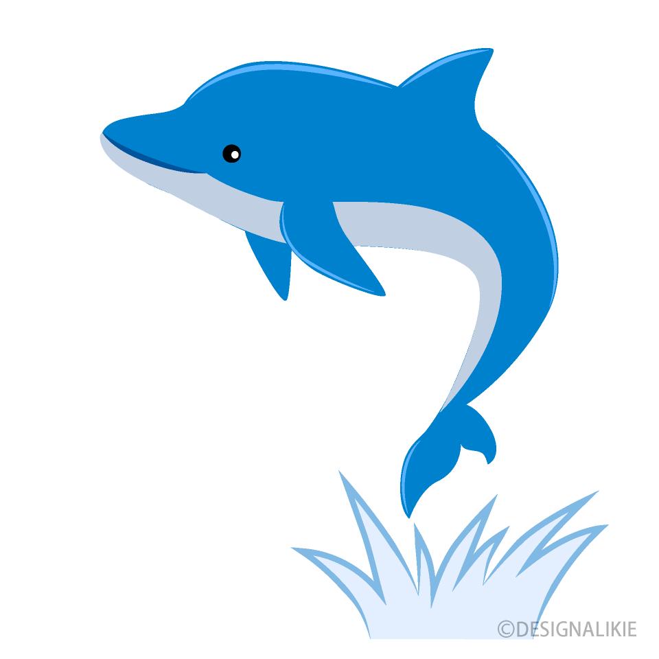Free Dolphin Jumping High Clipart Image Illustoon.