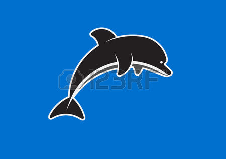 405 Dolphin Mascot Stock Vector Illustration And Royalty Free.