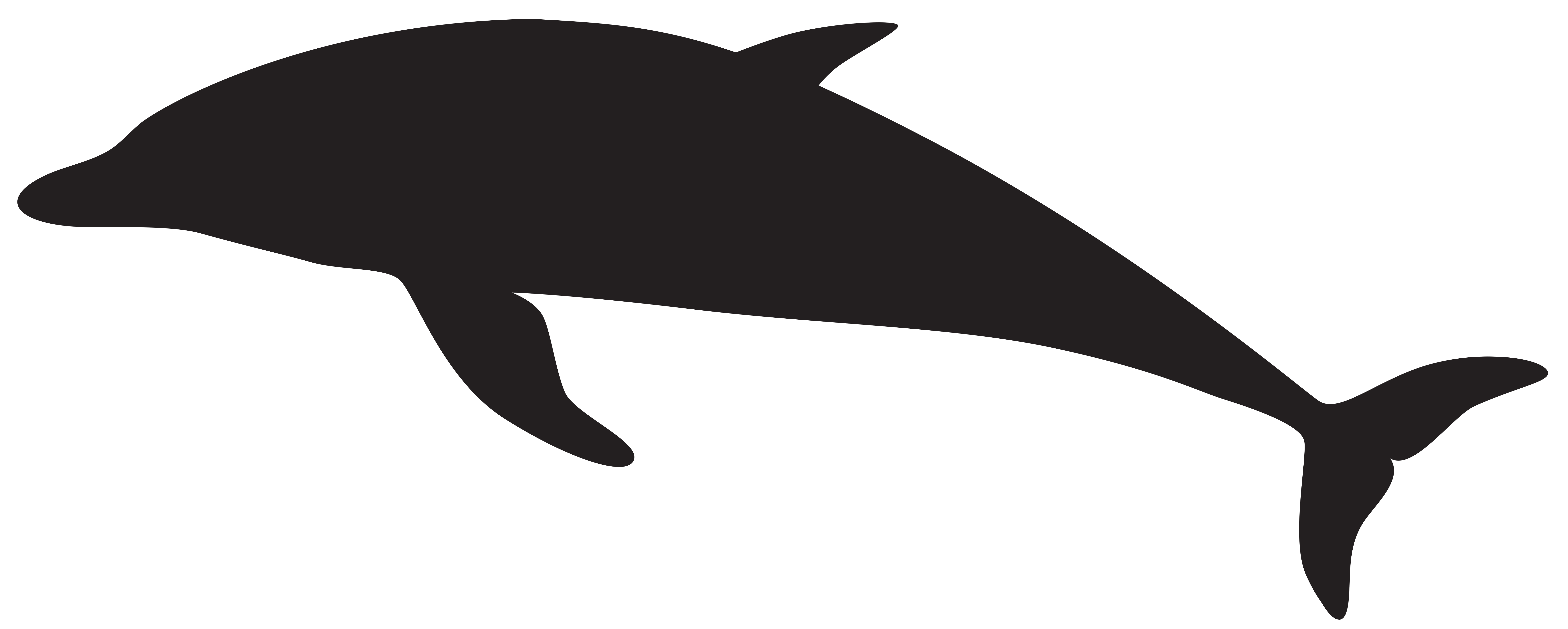 Free Dolphin Silhouettes, Download Free Clip Art, Free Clip.