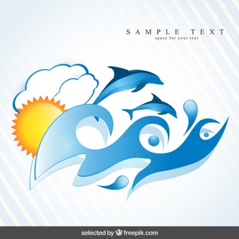 Dolphin Vectors, Photos and PSD files.