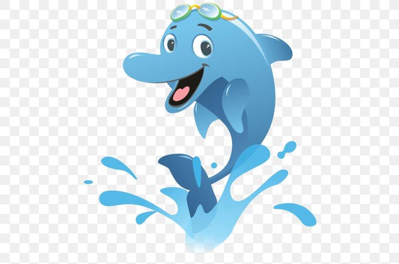 Spinner Dolphin Common Bottlenose Dolphin Swimming Clip Art.