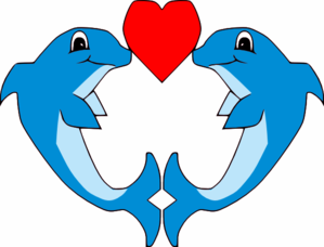 Dolphins clipart images.