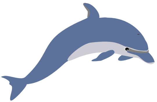 Dolphins clipart #20