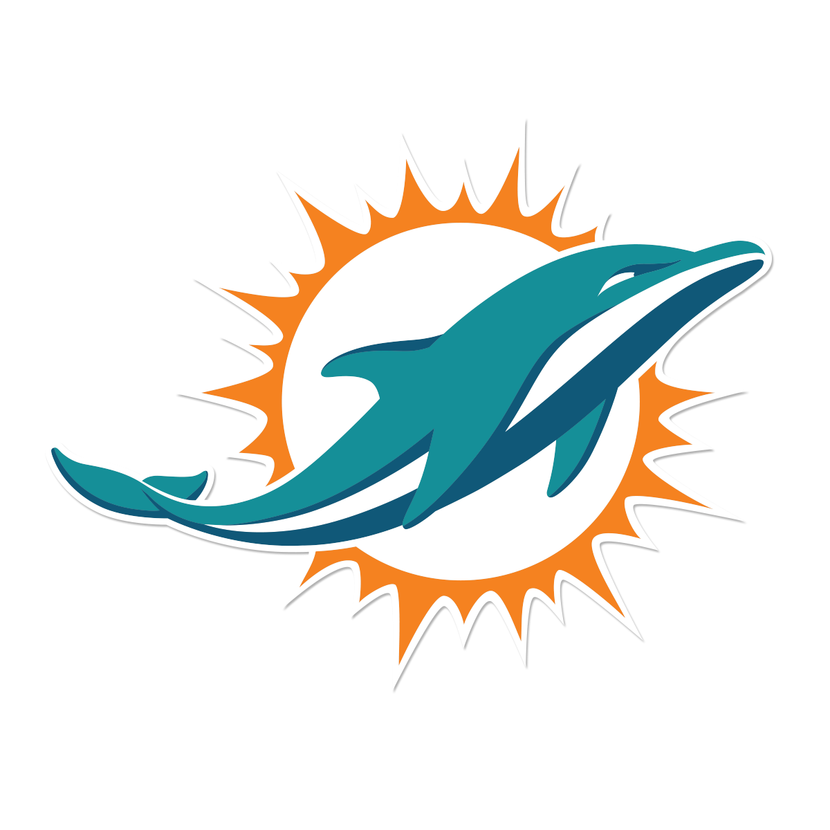 Free Miami Dolphins, Download Free Clip Art, Free Clip Art.