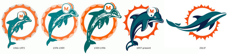 PHOTO: Is This The New Miami Dolphins Logo?.