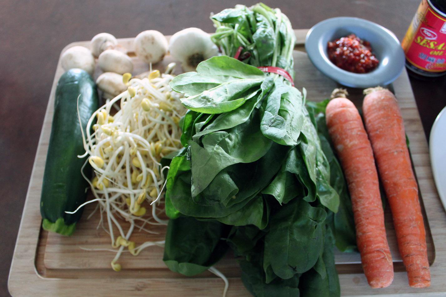 Recipe 59: Dolsot Bibimbap (Korean Food).