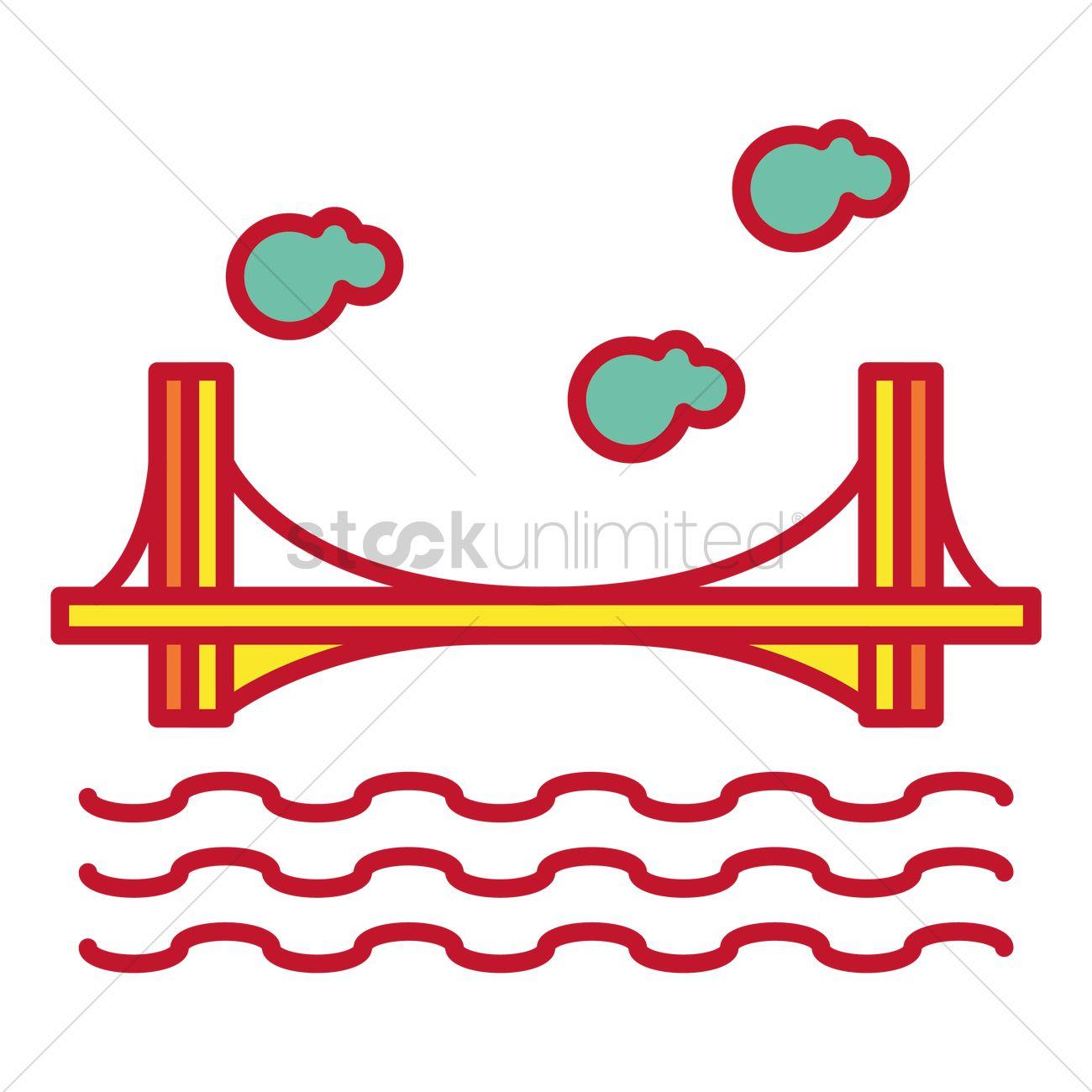 Dom luis i bridge Vector Image.