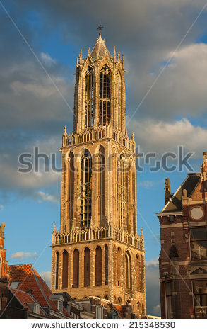 Utrecht Dom Stock Photos, Royalty.