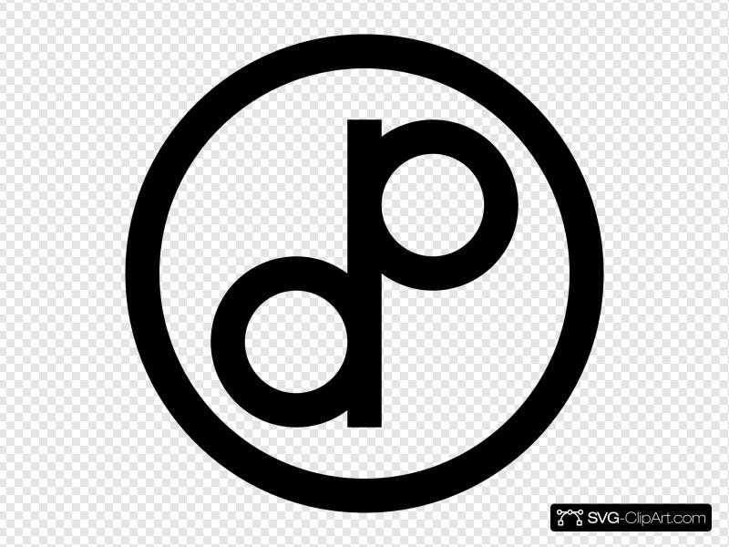 Public Domain Symbol 2 Clip art, Icon and SVG.
