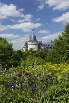 The famous gardens of the Château de Villandry in France's Loire.