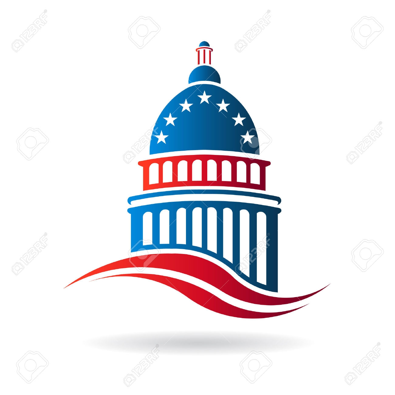 Capitol Building Clipart.