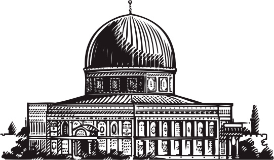 Dome Of The Rock Clip Art, Vector Images & Illustrations.