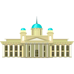 Domed Cathedral Finland clipart, cliparts of Domed Cathedral.