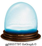 Domes blue clipart #10