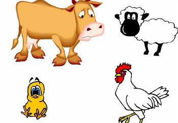 Cute Farm Animal Clipart.