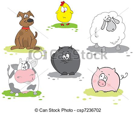 Domestic animal Vector Clipart EPS Images. 39,076 Domestic animal.