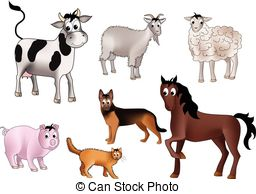 Domestic animals Stock Illustration Images. 51,508 Domestic.