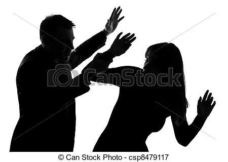 Couple Abuse Clip Art Domestic.