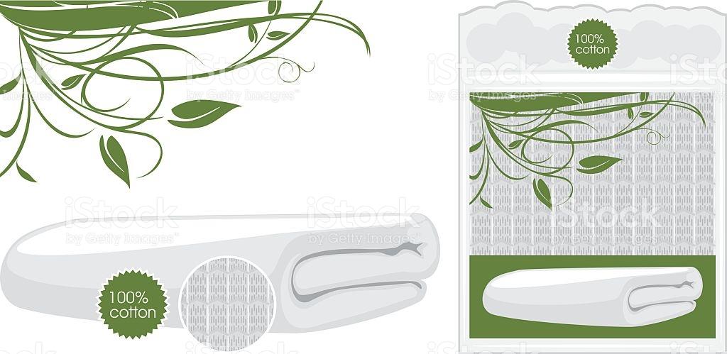 Cotton Waffle Towel stock vector art 492781764.