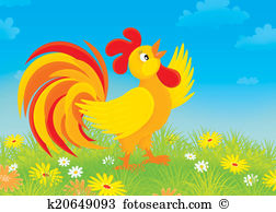 Domestic fowl Illustrations and Clip Art. 187 domestic fowl.