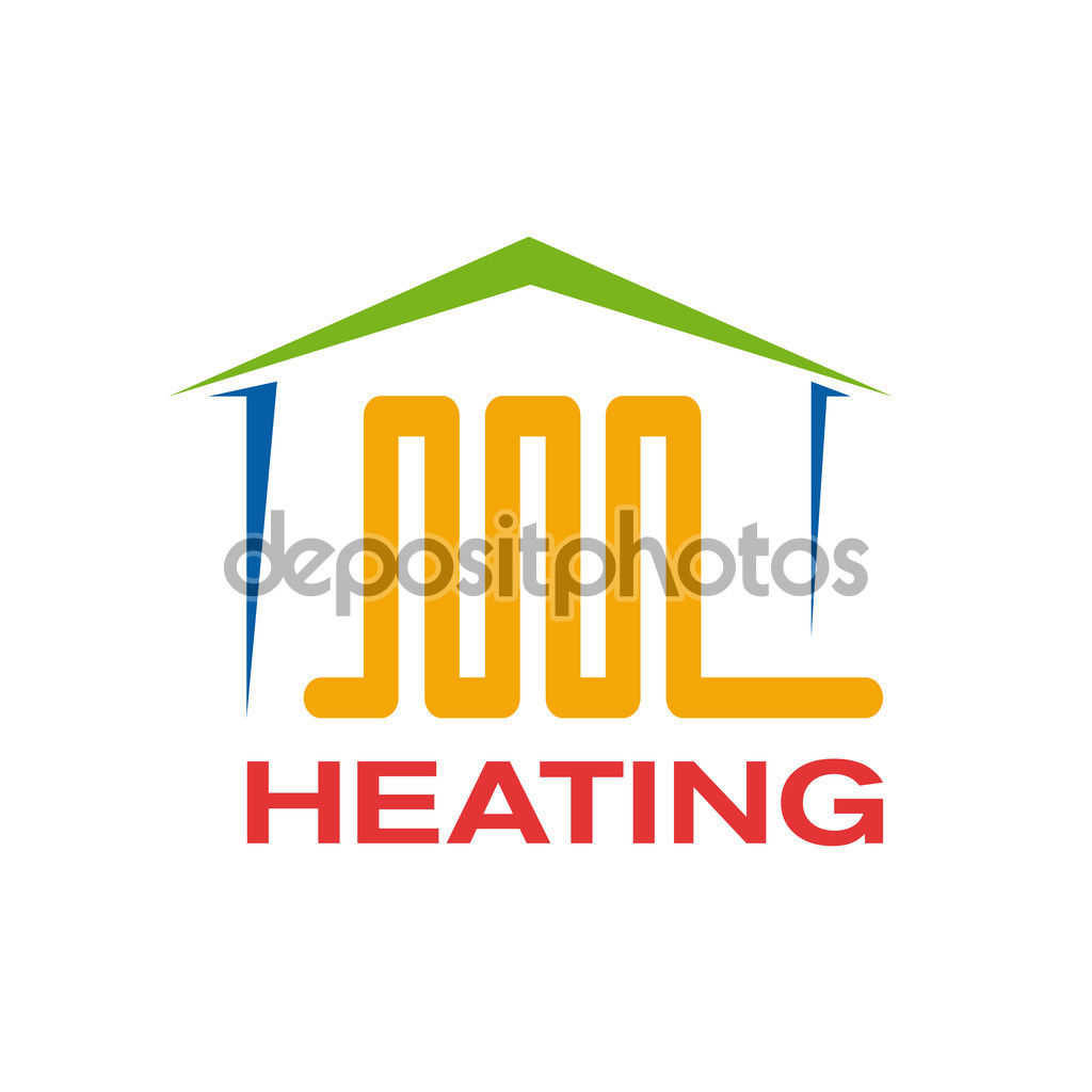 Vector sign domestic heating — Stock Vector © LuckyTD #84350020.