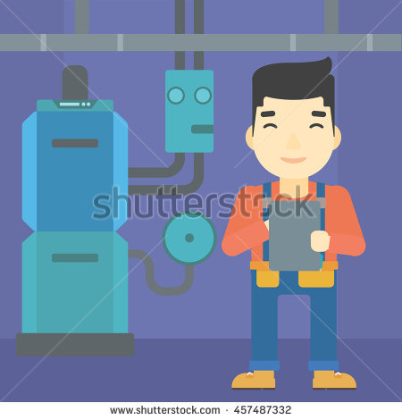 Domestic Heating Boilers Stock Photos, Royalty.