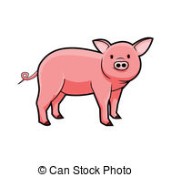 Domestic pig Vector Clipart EPS Images. 2,382 Domestic pig clip.