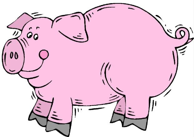 Clip Art Pig & Clip Art Pig Clip Art Images.
