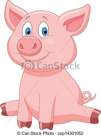 Domestic pig Vector Clipart EPS Images. 2,382 Domestic pig clip.
