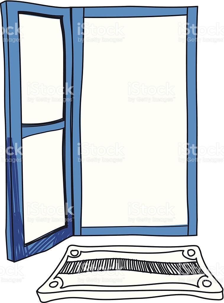 View Of Empty Room stock vector art 453891413.