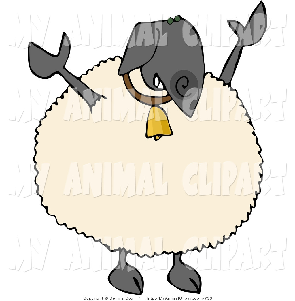 Royalty Free Domestic Sheep Stock Animal Designs.