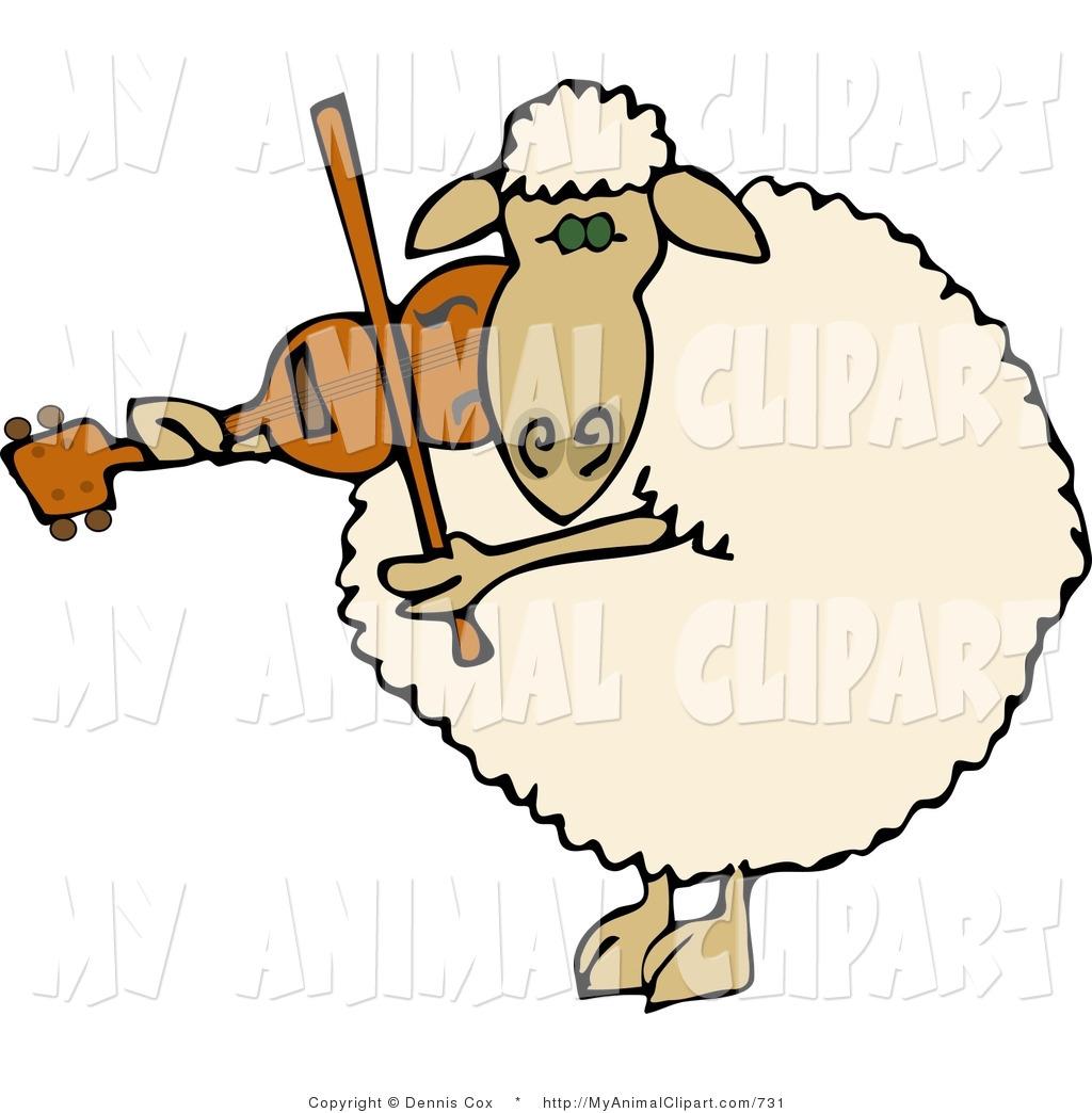 Royalty Free Domestic Sheep Stock Animal Designs.
